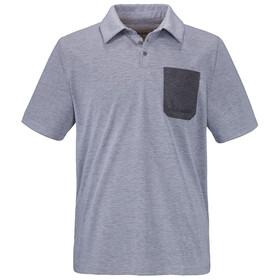 Schöffel Bilbao Polo Shirt Men melange mittelgrau